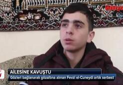 Fevzi el-Cuneydi ailesine kavuştu