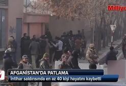 Afganistanda haber ajansında patlama