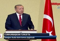 Erdoğan: Kudüs, kırmızı çizgimizdir