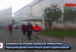 Göçmen kaçakçılığı operasyonunda 3 tutuklama
