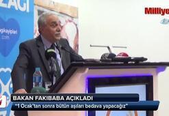 Gıda, Tarım ve Hayvancılık Bakanı açıkladı