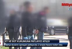 Diyarbakır'da Et ve Süt Kurumuna 2 adet patlayıcı atıldı