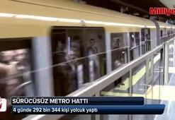 4 günde 292 bin 344 kişi yolcuk yaptı