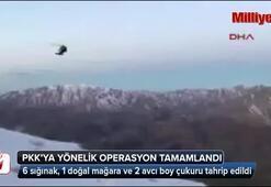 10 köyde PKKya yönelik operasyon tamamlandı
