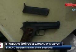 8 DHKP-C'li silahları ile birlikte ele geçirildi