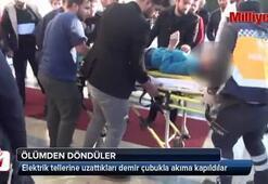 Şanlıurfa'da akıma kapılan öğrenciler ölümden döndü