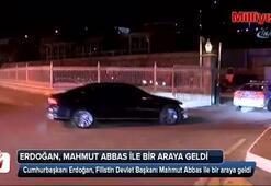 Filistin Devlet Başkanı Mahmud Abbas Türkiyede