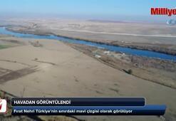 Fırat Nehri havadan görüntülendi