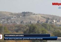 YPG, karakollar kurdu
