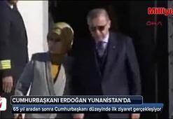 Yunanistana 65 yıl aradan sonra Cumhurbaşkanı düzeyinde ilk ziyaret