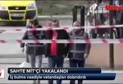Edirnede dolandırıcılık yapan sahte MİTçi yakalandı