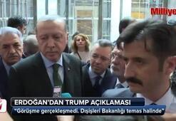 Cumhurbaşkanı Erdoğandan Trump açıklaması