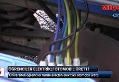 Hurda araçtan elektrikli otomobil ürettiler