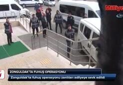 Zonguldakta fuhuş opersayonu