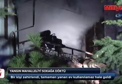 Ankara'da ev yangını