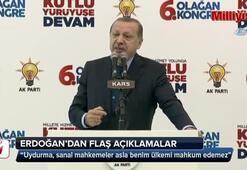 Cumhurbaşkanı Erdoğandan Sarraf davasına bakan mahkemeyle ilgili flaş sözler