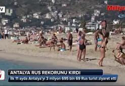 Antalya 2017 dolmadan Rus rekorunu kırdı