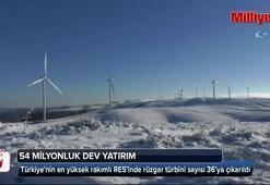 Türkiyenin en yüksek rakımlı RESinde 54 milyon dolarlık yatırım