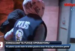 Fuhuş operasyonu: 14 kişi gözaltına alındı
