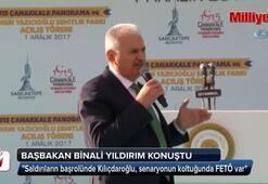 Başbakan Binali Yıldırım konuştu