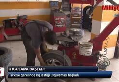 Türkiye genelinde kış lastiği uygulaması başladı