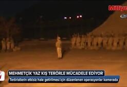 Mehmetçik, yaz kış terörle mücadele ediyor