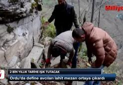 Define avcıları lahit mezarı ortaya çıkardı
