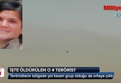 İşte öldürülen o 4 terörist