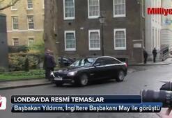 Başbakan Yıldırım, İngiltere Başbakanı May ile görüştü