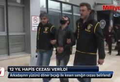 Döner bıçağı ile yaralamaya 12 yıl hapis cezası
