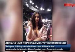 Adriana Lima röportajı Milliyet Cumartesi Ekinde...