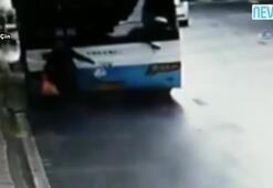 Yaşlı kadın otobüsün altında can verdi