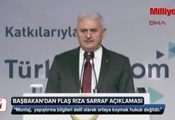 Başbakan Yıldırımdan flaş Rıza Sarraf açıklaması