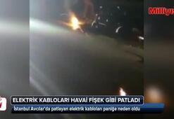 Avcılarda patlayan trafo vatandaşı mağdur etti