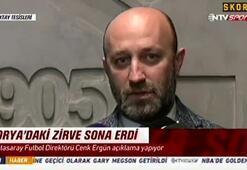 Cenk Ergün: Ayhan Akman görevinin başında