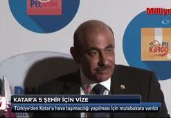 Türkiyeden Katara 5 şehir için vize