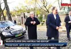 Cumhurbaşkanlığı Sözcüsü Kalın, Ahmet Kayanın mezarını ziyaret etti