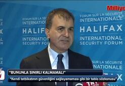 AB Bakanı Çelik: Saygısızlığın affedilmeyeceğini ifade ettik