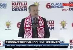 Cumhurbaşkanı Erdoğan, Naim Süleymanoğlunu unutmadı