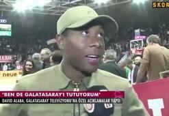 David Alaba Galatasaray taraftarı olduğunu açıkladı