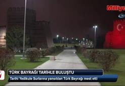 Fatih'te Türk bayrağı tarihle buluştu