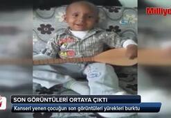 Kanseri yenip kazada ölen çocuğun son görüntüleri ortaya çıktı