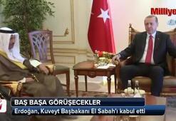 Cumhurbaşkanı Erdoğan, Kuveyt Başbakanı El Sabah'ı kabul etti