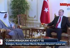Cumhurbaşkanı Erdoğan Kuveytte