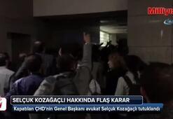 Kapatılan ÇHDnin Genel Başkanı Selçuk Kozağaçlı  tutuklandı