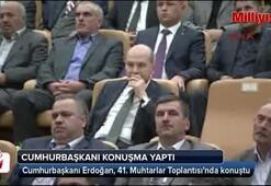 Cumhurbaşkanı Erdoğan, 41. Muhtarlar Toplantısında konuştu