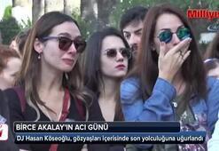 DJ Hasan Köseoğlu son yolculuğuna uğurlandı