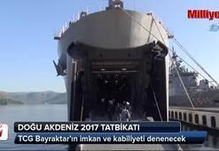 Doğu Akdeniz-2017 tatbikatı başladı