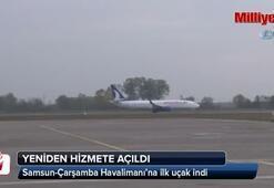 Samsun-Çarşamba Havalimanı yeniden hizmete açıldı