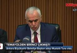 Ankara Büyükşehir Belediye Başkan adayı Mustafa Tuna oldu
